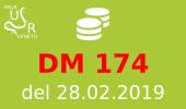 Finanziamenti DM 174