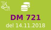 Finanziamenti DM 721