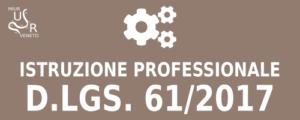Istruzione Professionale - D. Lgs. 61/2017