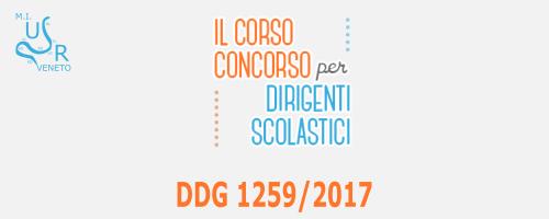 Concorso DDG 1259/2017